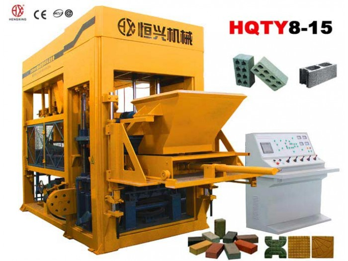 QT8-15 Automatic block making machine