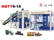 automatic concrete brick machine